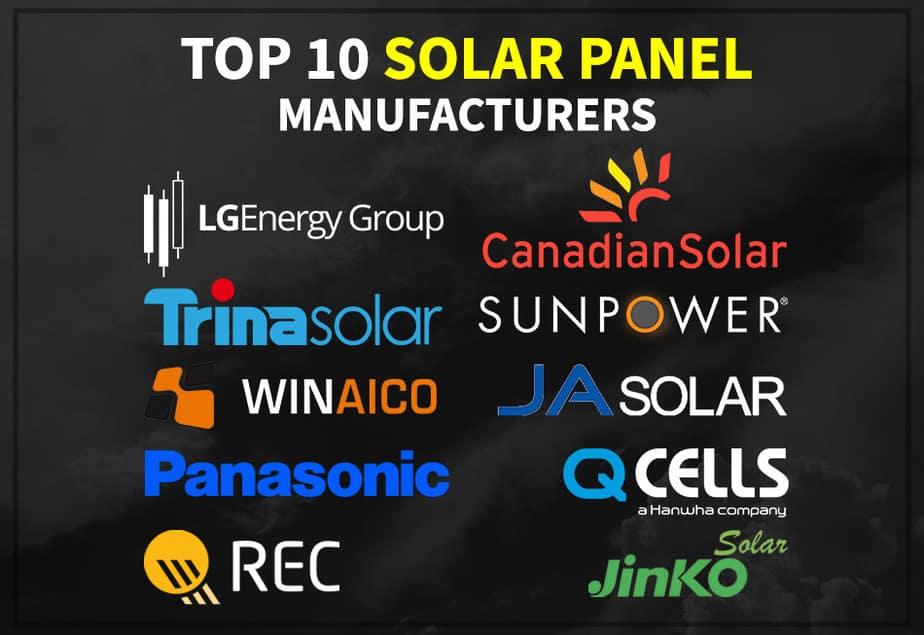 Top 10 Solar Panel Manufacturers – Those Solar Guys